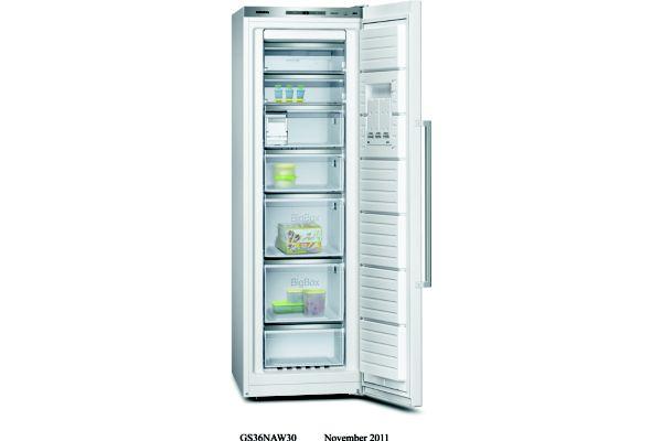 Congélateur armoire siemens gs36naw31 237 litres - 2% de remise : code gam2 (photo)