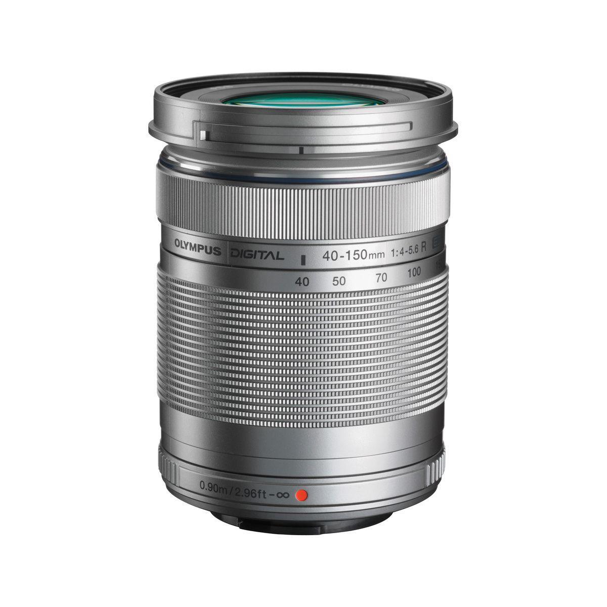Objectif pour hybride olympus 40-150mm r f/4.0-5.6 silver m.zuiko - 10% de remise imm�diate avec le code : fete10