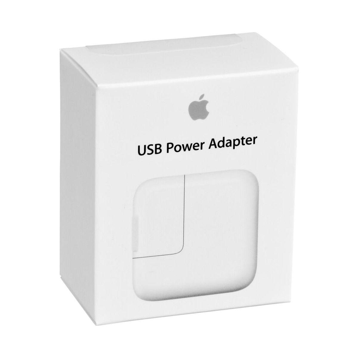 Adaptateur apple usb 12w ipad (photo)