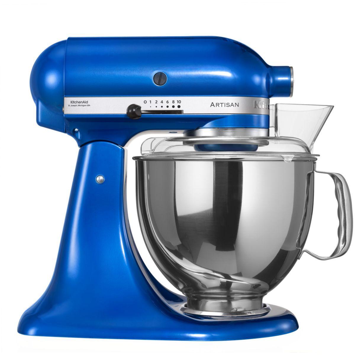 Robot sur socle artisan® kitchenaid 5ksm150ps eeb bleu electrique - produit coup de coeur webdistrib.com !