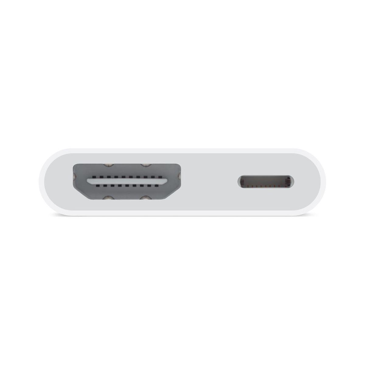 Adaptateur apple lightning av numérique - livraison offerte : code liv (photo)