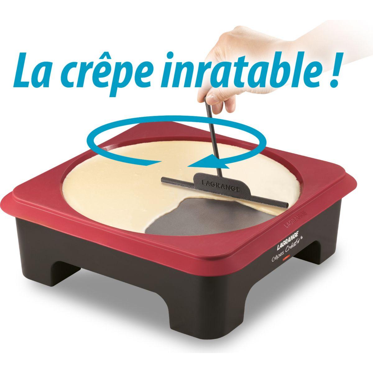 Cr�pe party lagrange crepes creativ 3 pochoirs (photo)