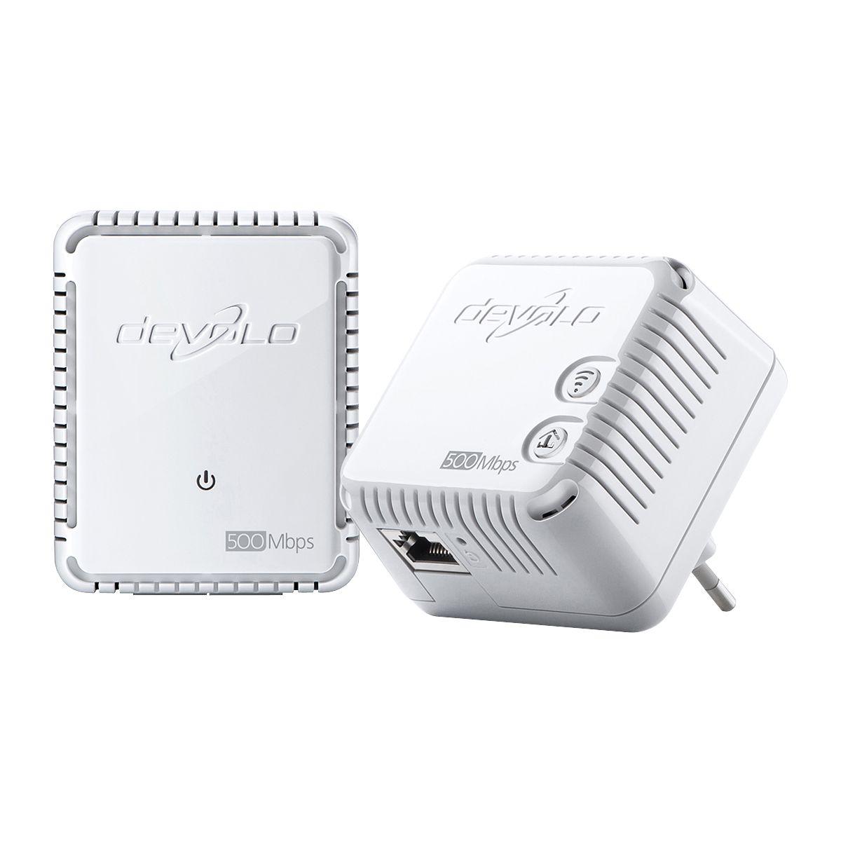 Cpl duo devolo dlan 500 wifi starter kit - livraison offerte : code liv