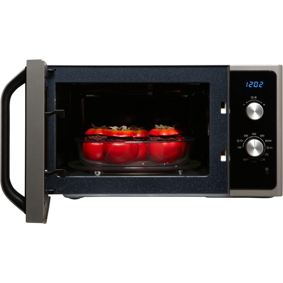 Micro-onde grill samsung mg23f301efs - 2% de remise : code gam2