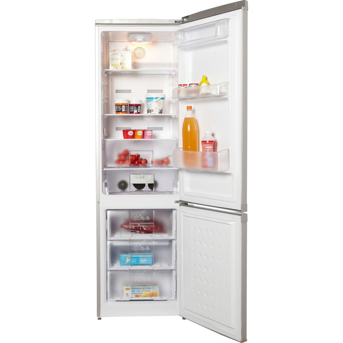 Réfrigérateur congélateur en bas beko cna 29120s - 2% de remise : code gam2 (photo)
