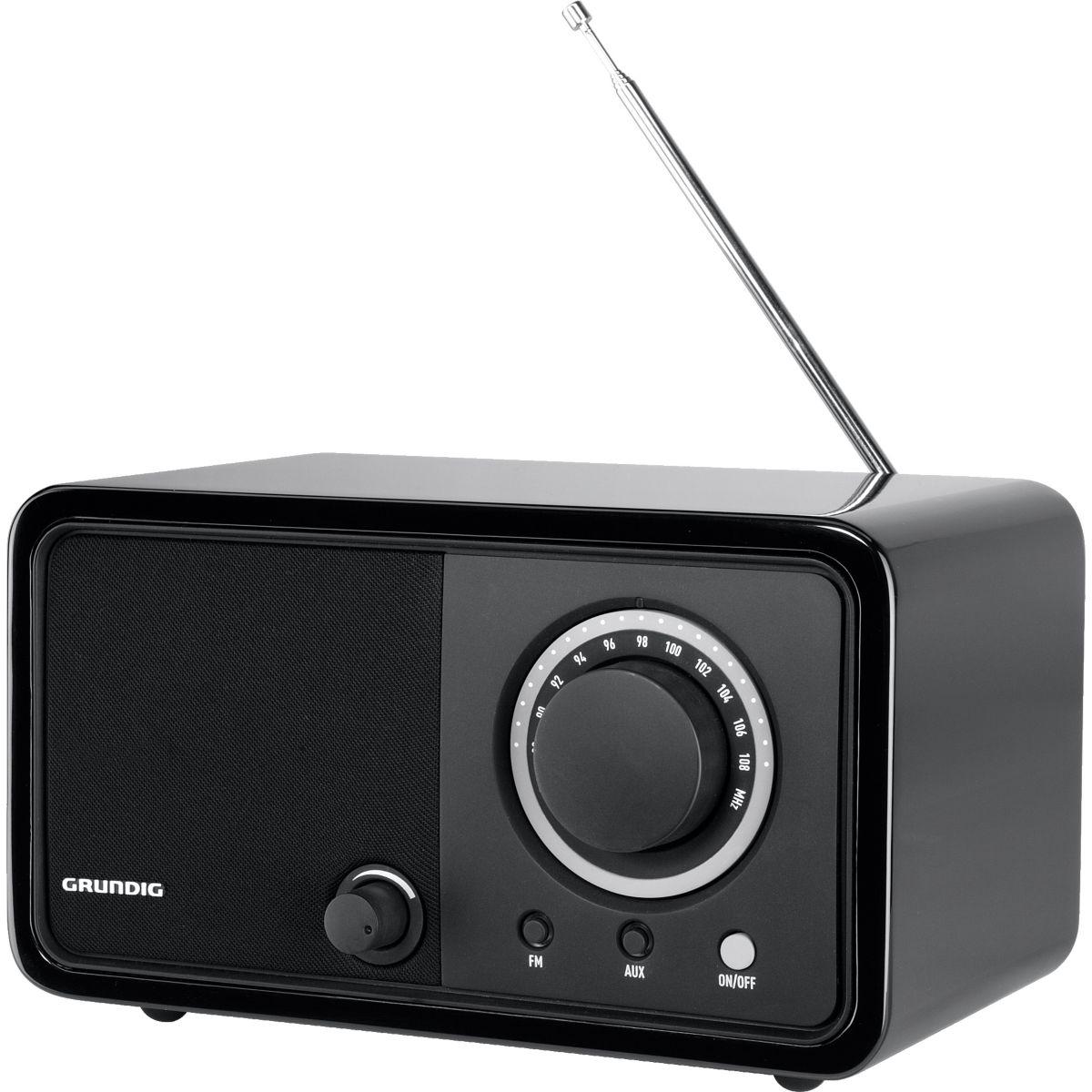 Radio analogique grundig tr 1200 black - 15% de remise imm�diate avec le code : automne1
