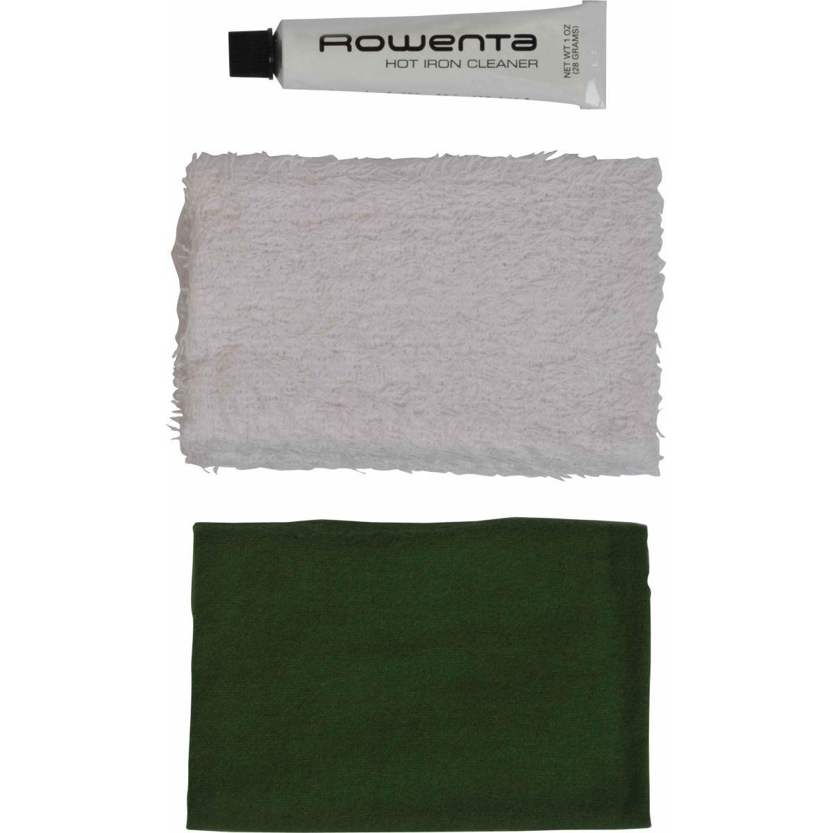 Kit de nettoyage pour semelle de fer rowenta kit de nettoyage pour semelle de fer - 20% de