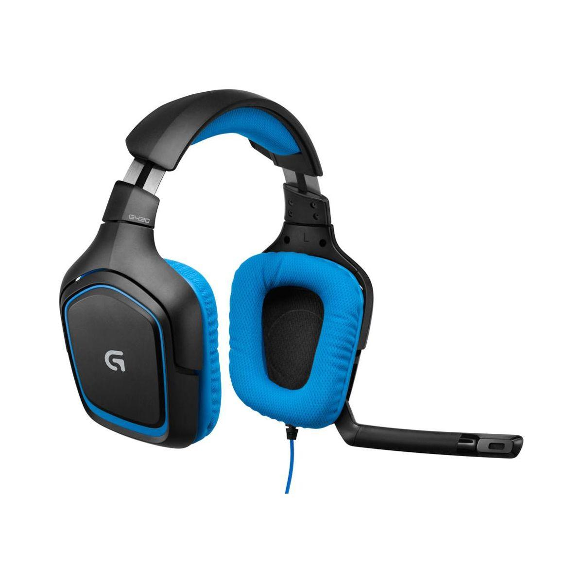 Casque micro gamer logitech g430 (photo)