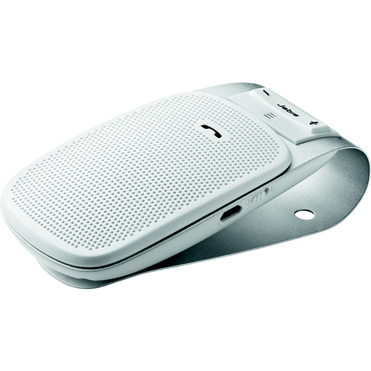 Kit mains libres voiture jabra drive blanc - livraison offerte : code premium (photo)