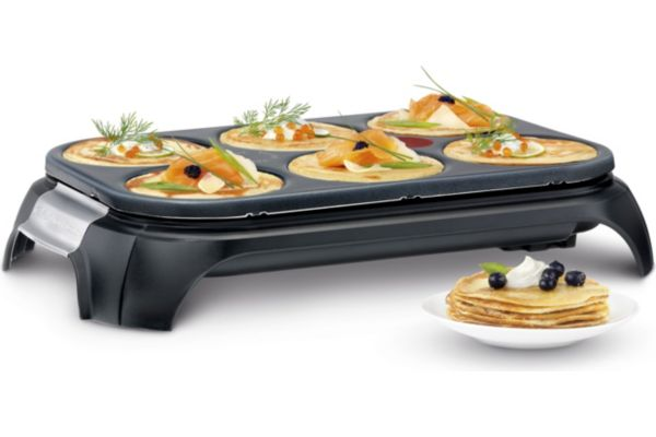Crêpière tefal crep party inox & design py558813