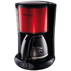 Cafetière filtre moulinex fg360d10 subito noir/rouge - 2% de remise immédiate avec le code : cool2 (photo)