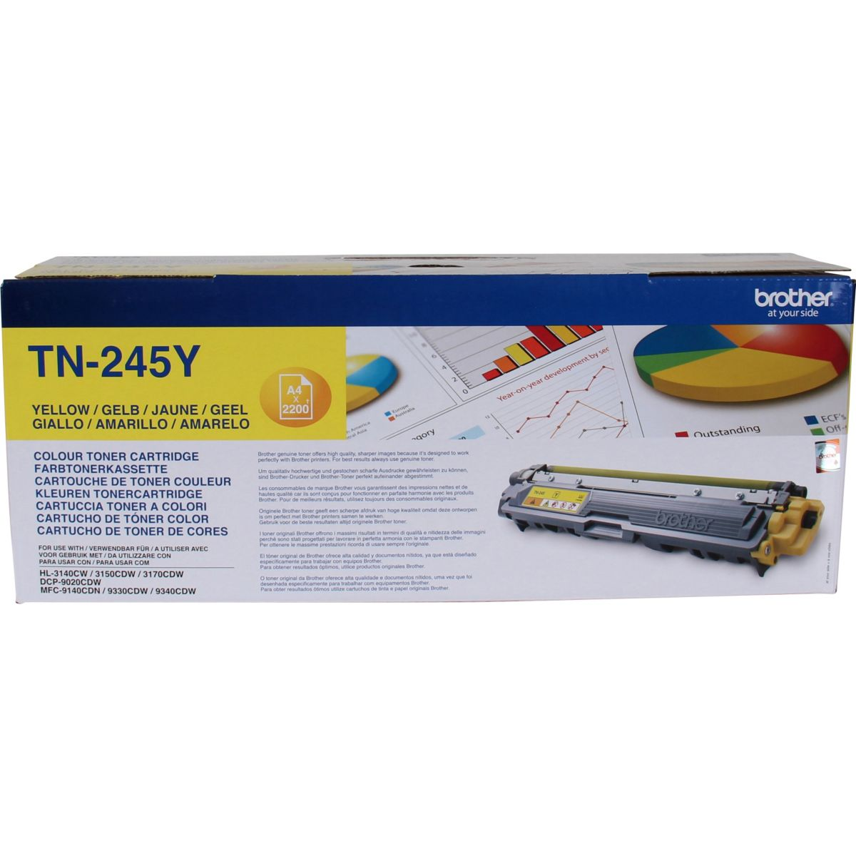 Toner brother tn245 jaune xl - 2% de remise imm�diate avec le code : deal2