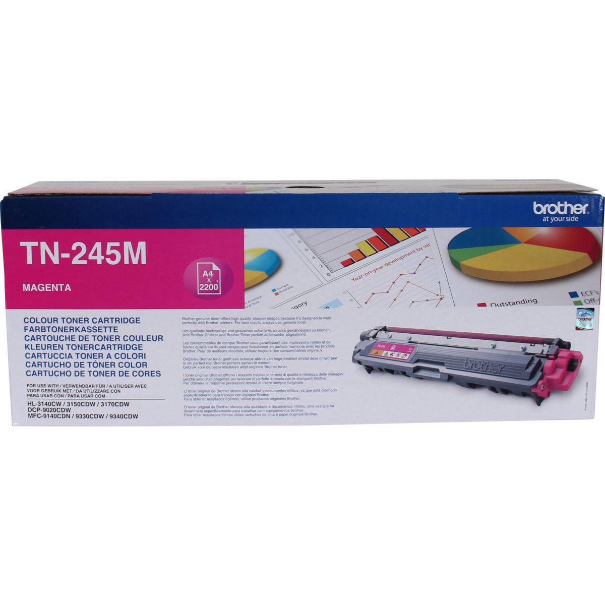 Toner brother tn245 magenta xl - 2% de remise imm�diate avec le code : deal2