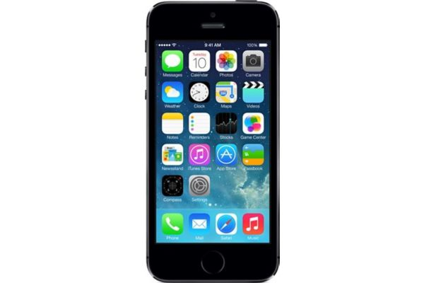 Apple iphone 5s 16go gris sidéral - 2% de remise immédiate avec le code : fete2 (photo)
