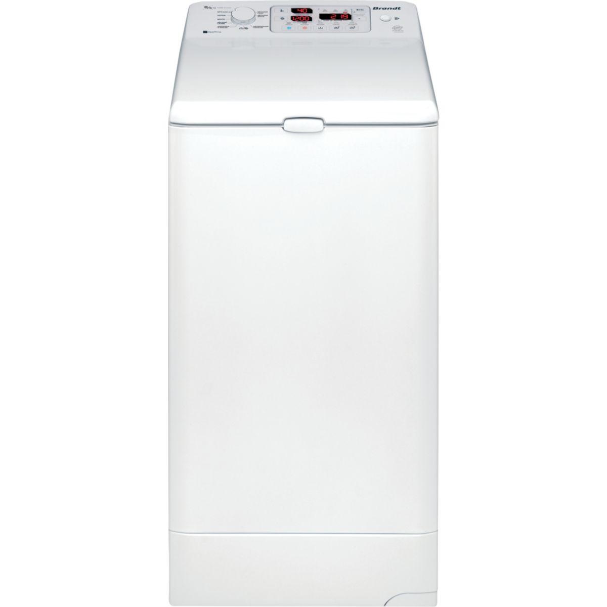 Lave linge s�chant top brandt wtd 8284 - livraison offerte : code premium
