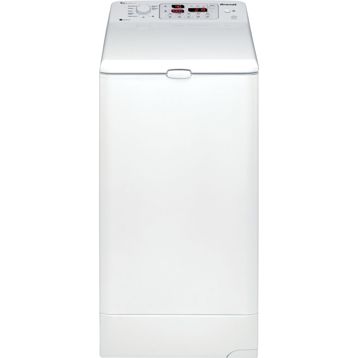 Lave-linge séchant top brandt wtd8074sf - 2% de remise : code gam2