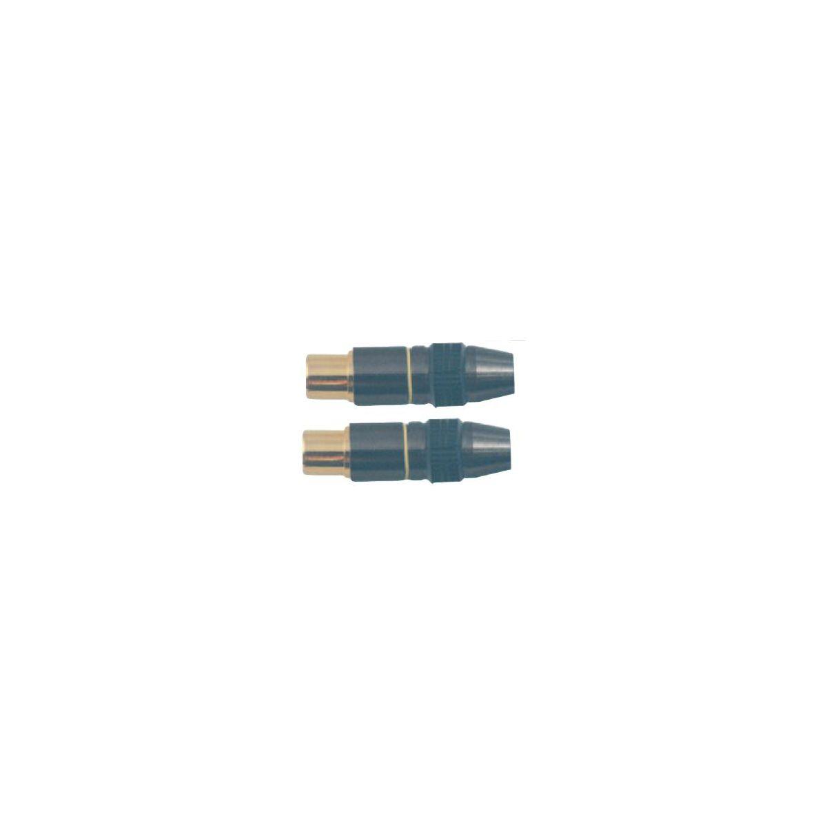 Fiche sc 9,52 mâle *2 métal - produit coup de coeur webdistrib.com ! (photo)