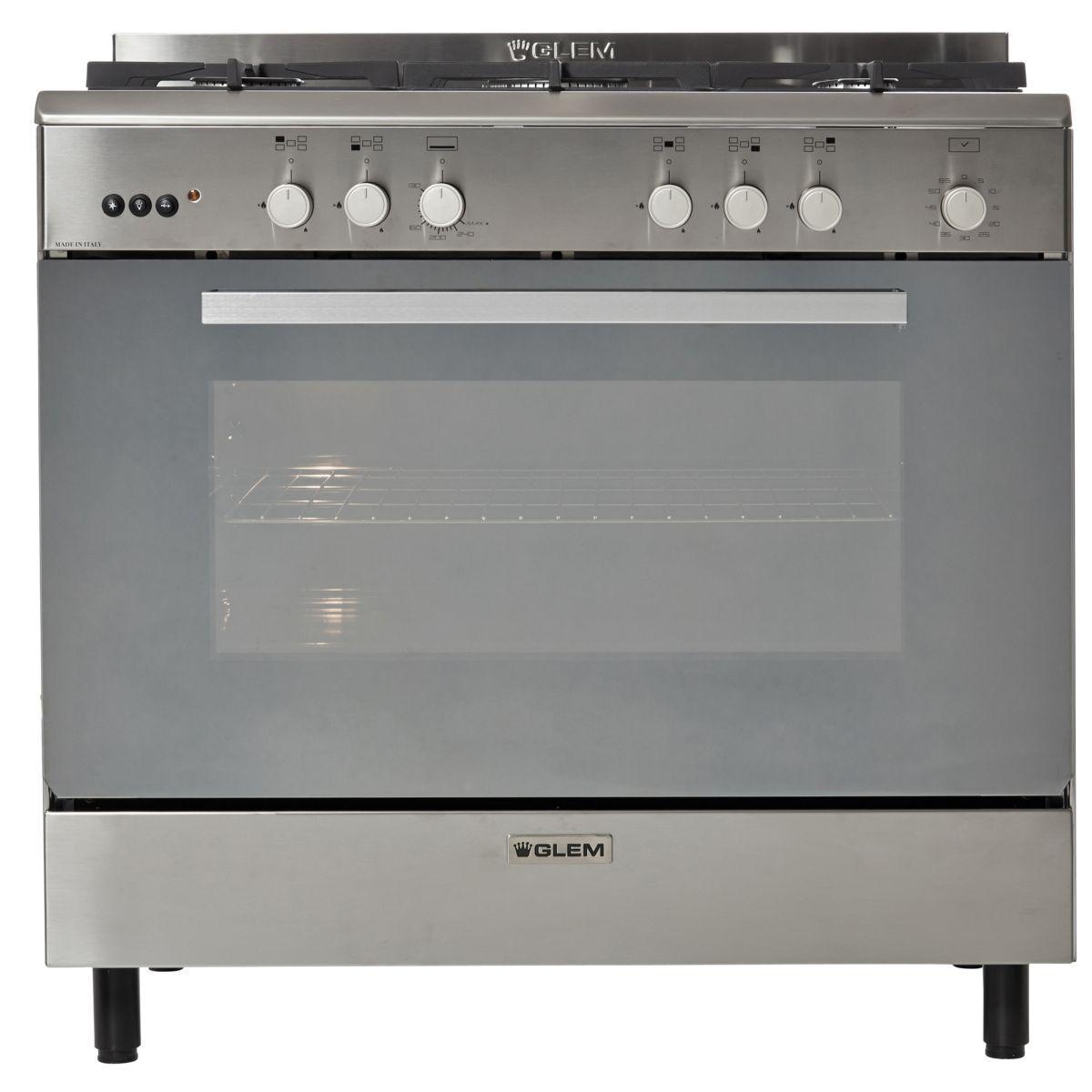 Piano de cuisson gaz glem ge960cmix - 20% de remise imm�diate avec le code : gam20 (photo)