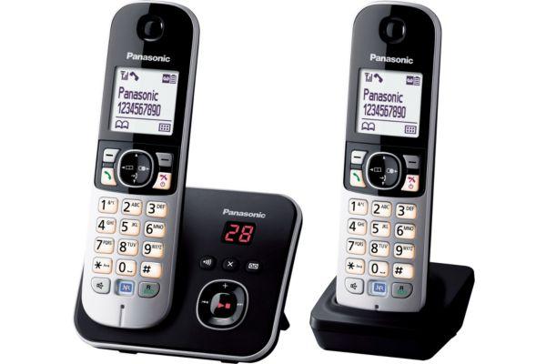 Téléphone répondeur sans fil duo panasonic tg6822 - 10% de remise immédiate avec le code : multi10 (photo)