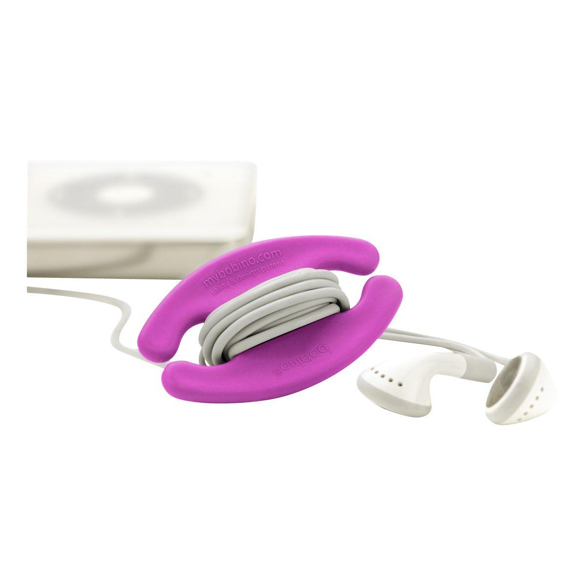 Serre-câble bobino enrouleur de cable s rose - 3% de remise immédiate avec le code : multi3 (photo)