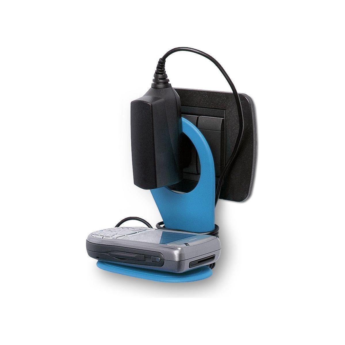 Support driinn porte-portable xl pliable bleu (photo)
