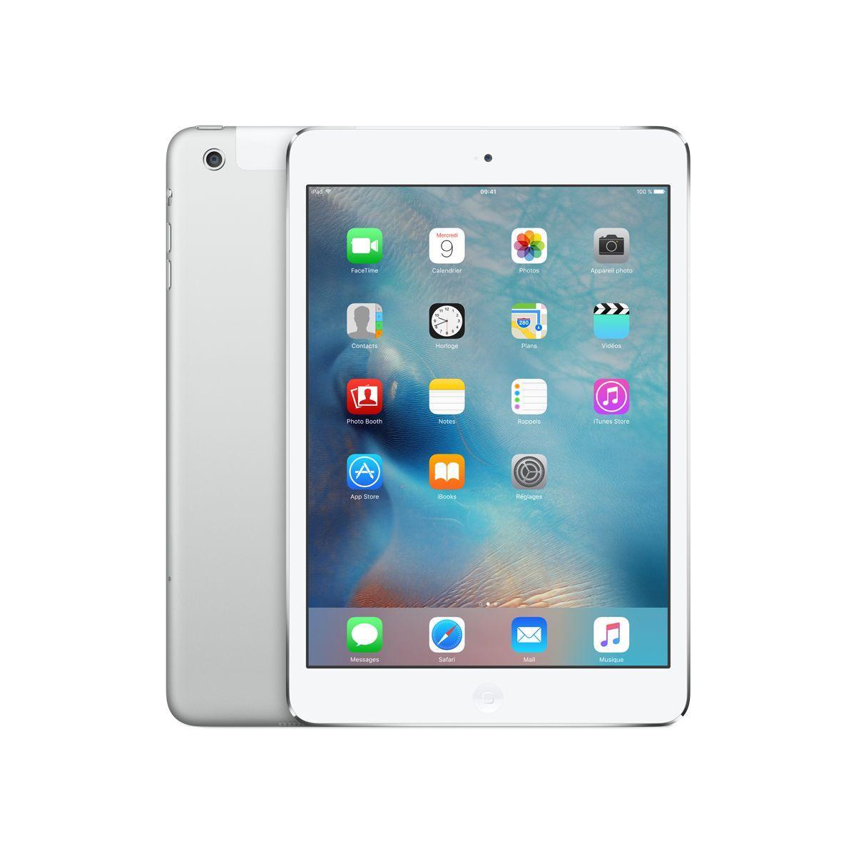 Apple ipad mini 2 32go cellular argent - livraison offerte : code chronoff (photo)