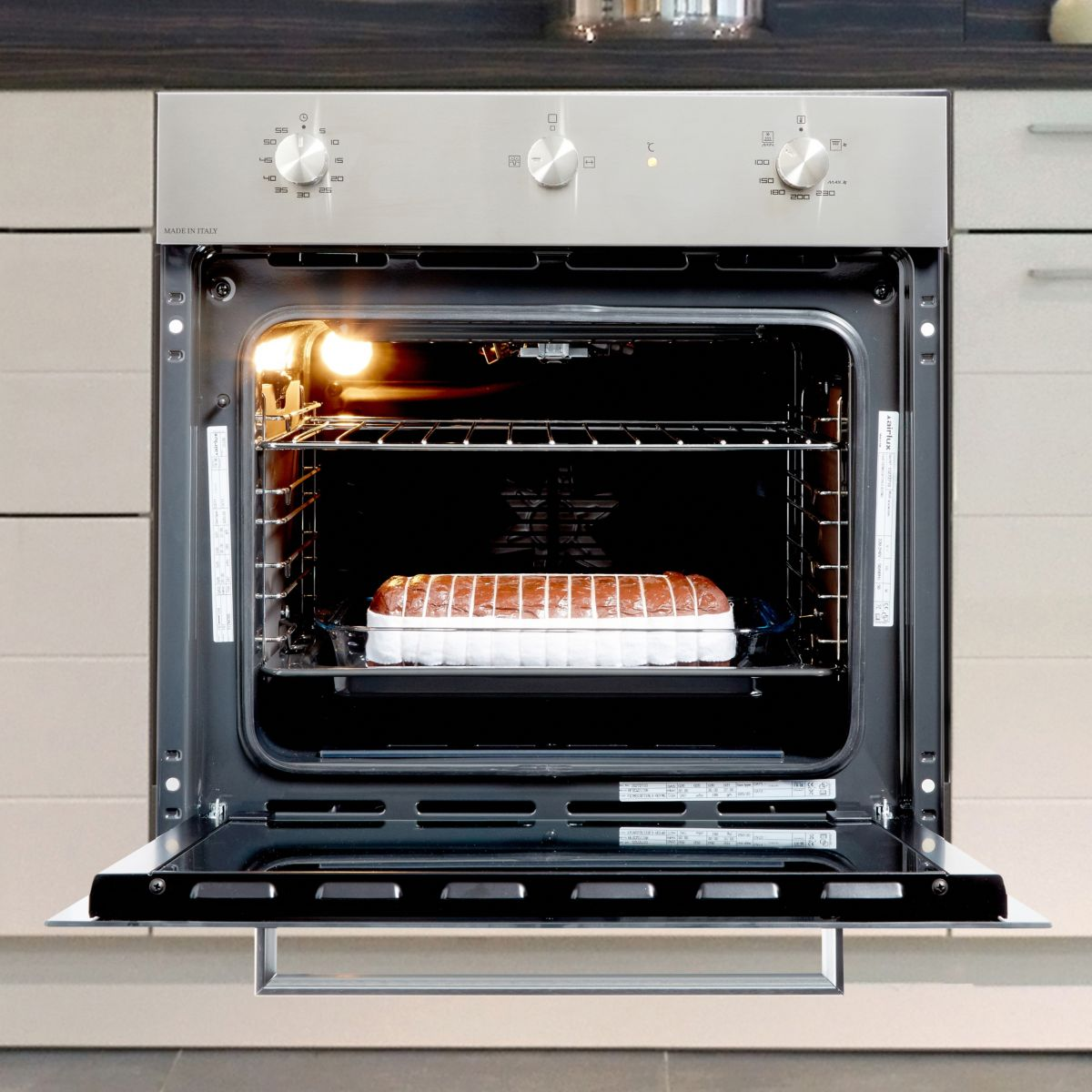 Four convection naturelle airlux afscw21ixn - livraison offerte : code livpremium (photo)