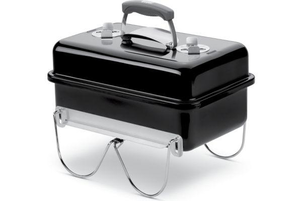 Barbecue charbon weber go anywhere black charbon (photo)