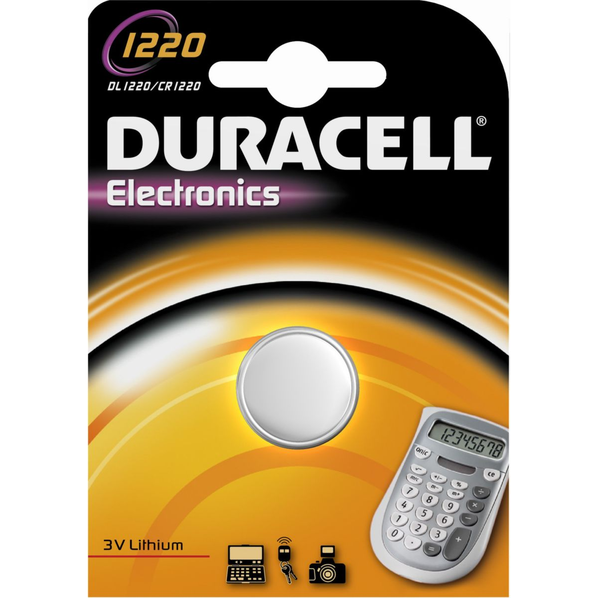 Pile non rechargeable duracell spe 1220 (photo)