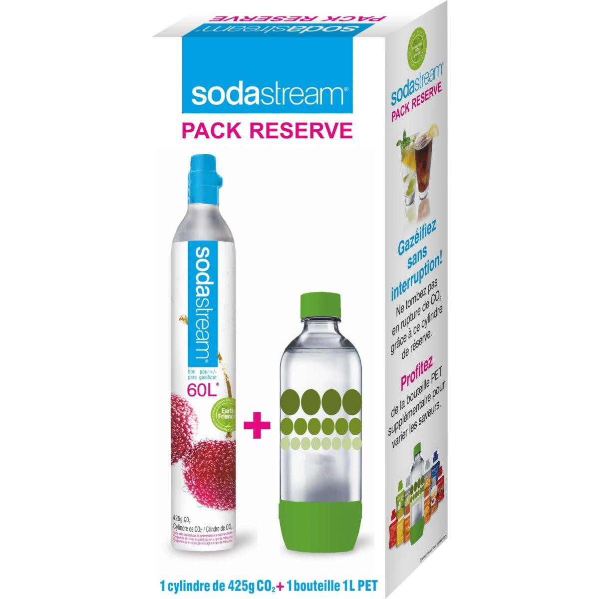 Bouteille sodastream pack cylindre c02 6 - 5% de remise : code pam5 (photo)