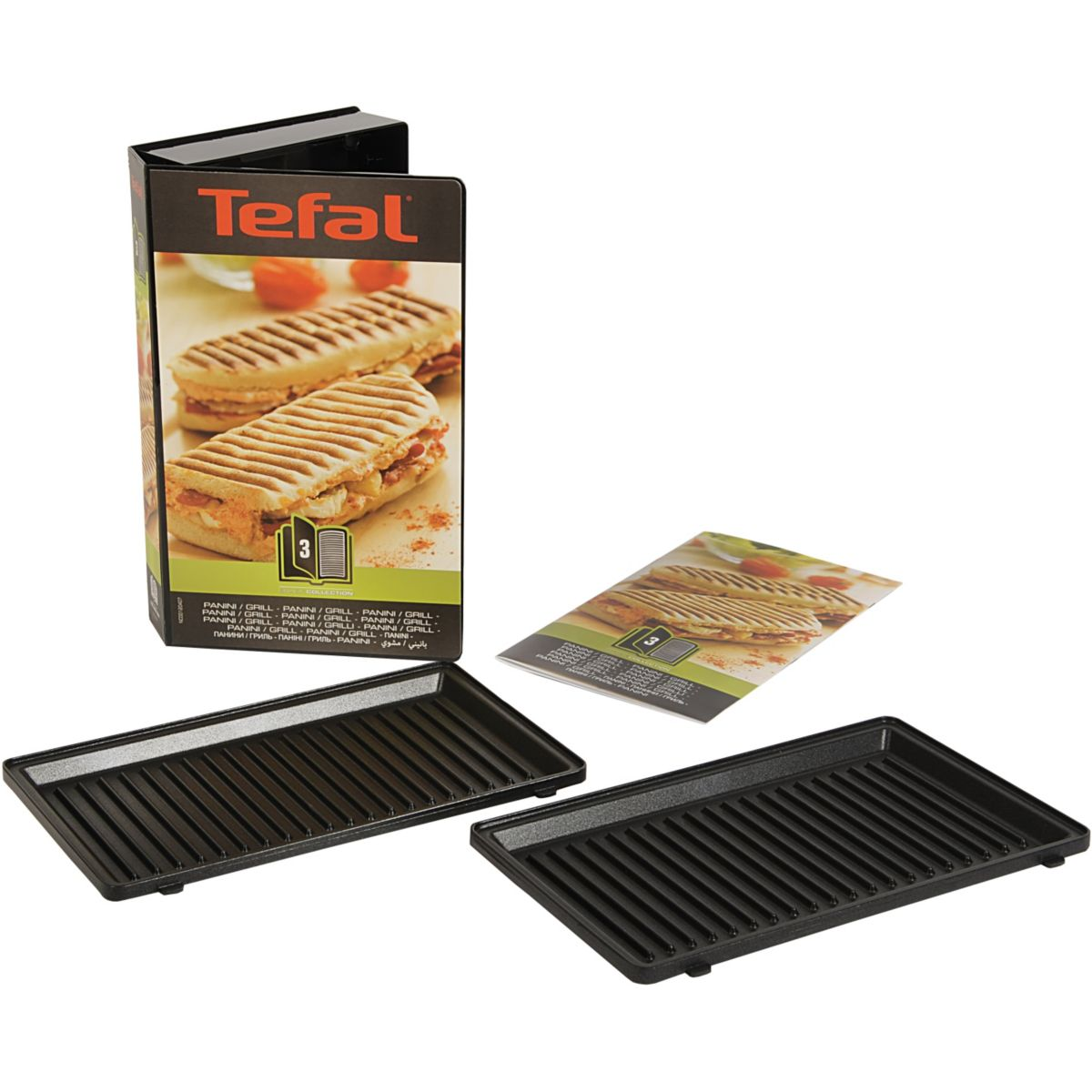 Acc-cuisson tefal 2 plaques grill-panini (photo)