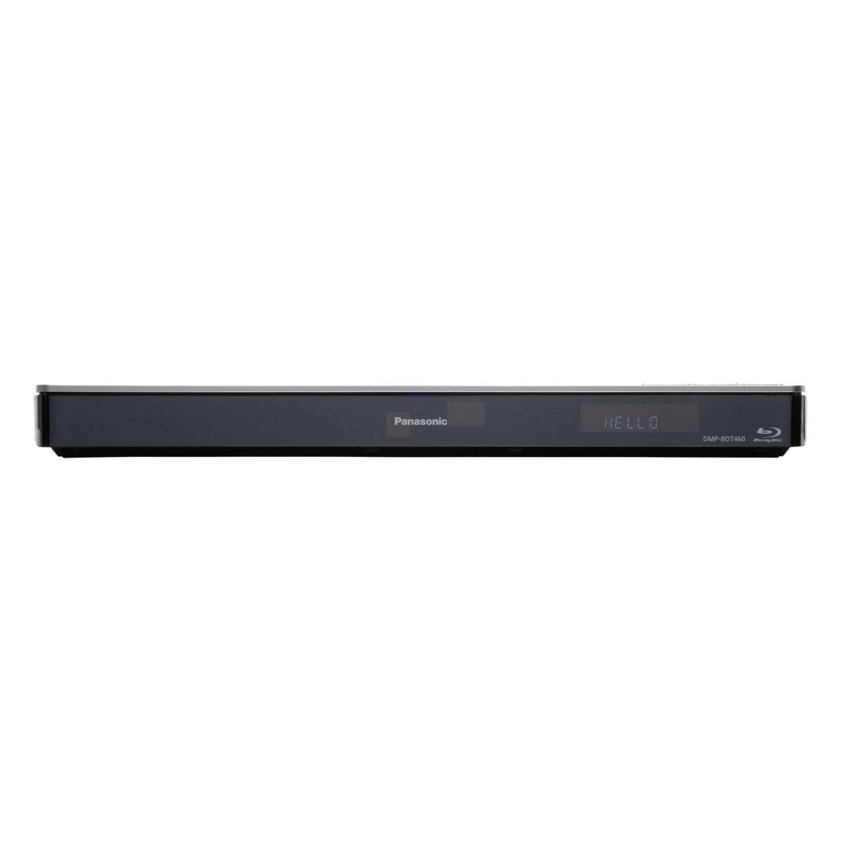 Lecteur blu-ray 3d smart tv wifi 4k panasonic dmpbdt460 - 5% de remise : code multi5 (photo)