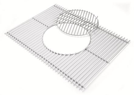 Accessoire weber grille gourmet bbq system pour genesis série 300 (photo)