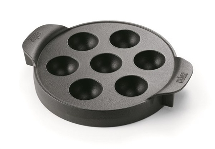 Accessoire weber ebelskiver (pancake danois) gourmet bbq system (photo)
