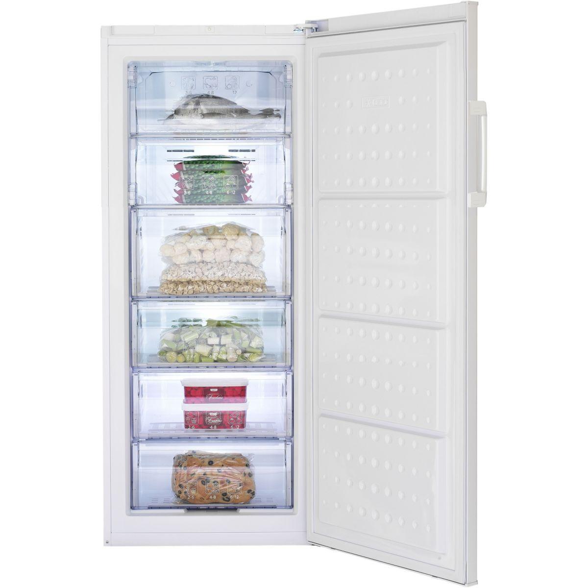 Cong lateur armoire beko ex fne127 214 litres ebay - Congelateur armoire froid ventile beko fne ...