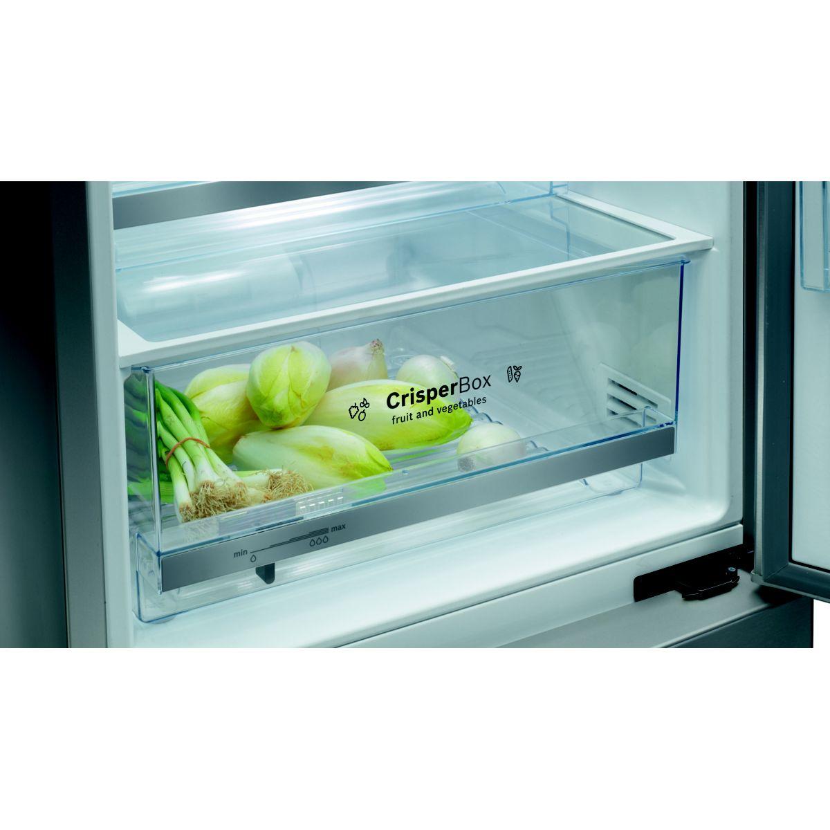 Réfrigérateur congélateur en bas bosch kgv36vw32s - 2% de remise : code gam2 (photo)