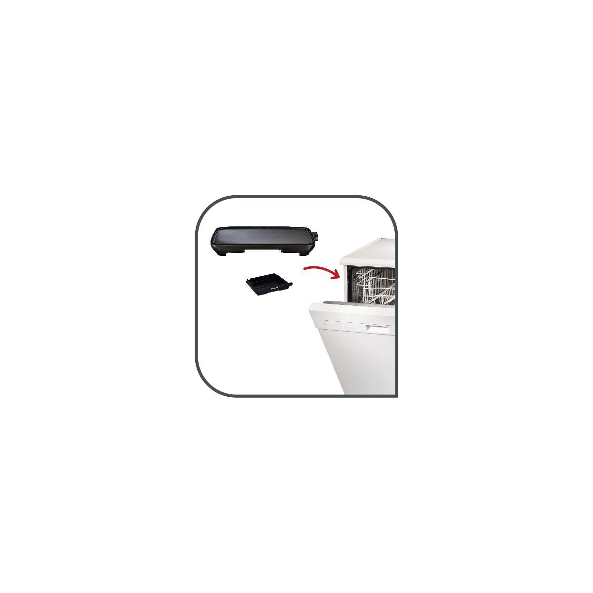 Plancha �lectrique tefal malaga cb501812 - 2% de remise imm�diate avec le code : priv2 (photo)