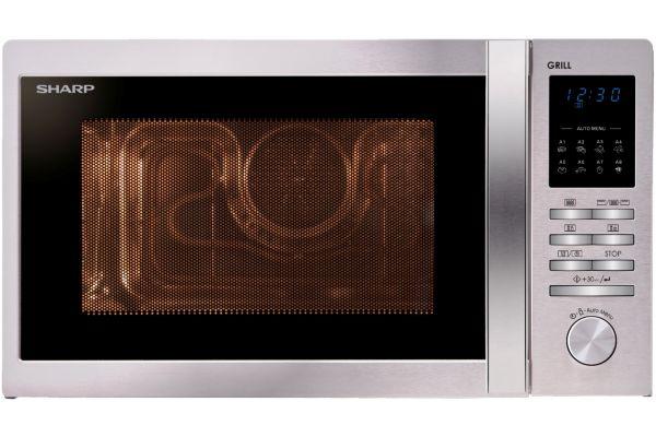Micro ondes grill combin� sharp r722stw - 2% de remise imm�diate avec le code : wd2 (photo)