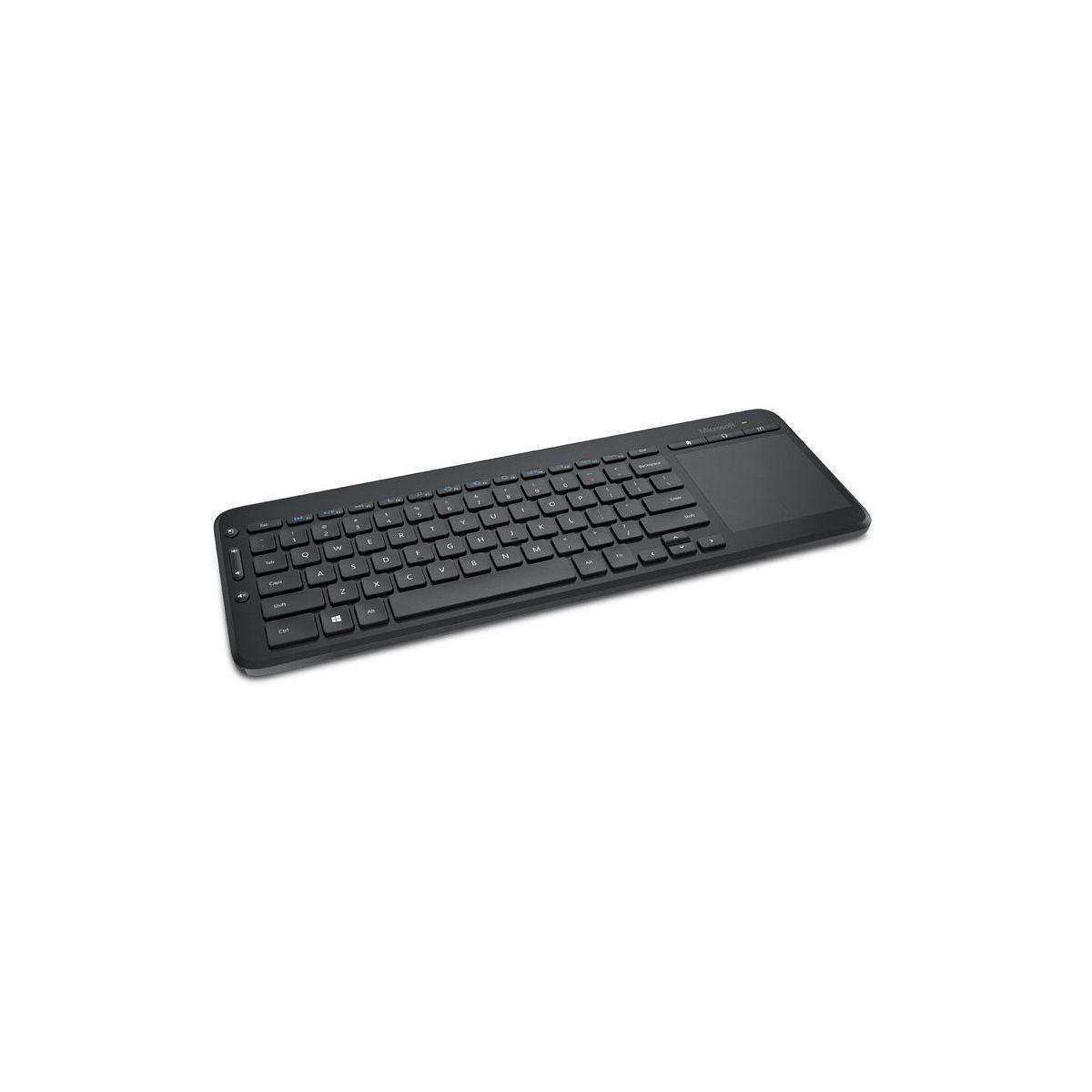 Clavier microsoft all in one media keyboard universel - livraison offerte avec le code mroffert