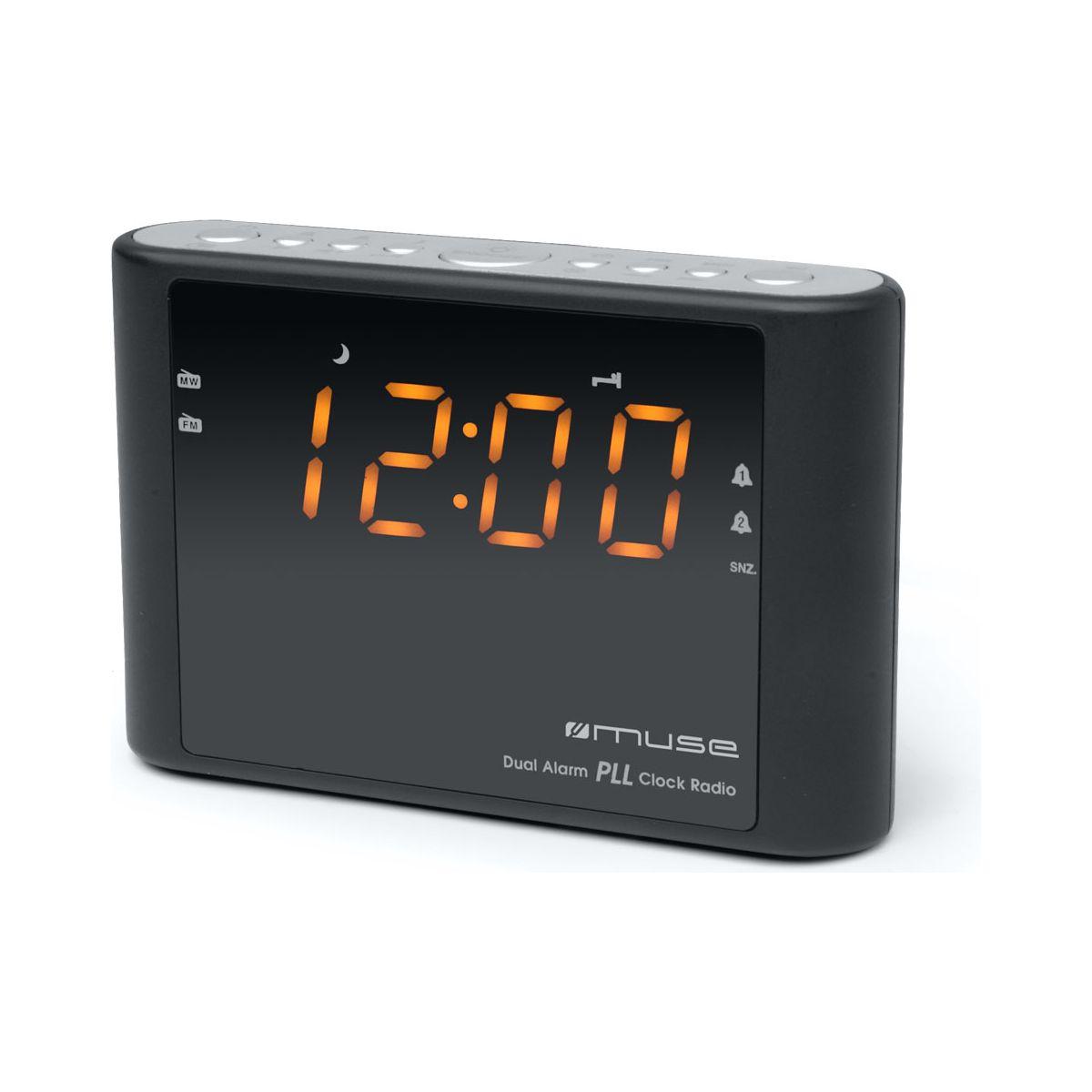 Radio-réveil muse m-175 cr - 15% de remise immédiate avec le code : multi15 (photo)