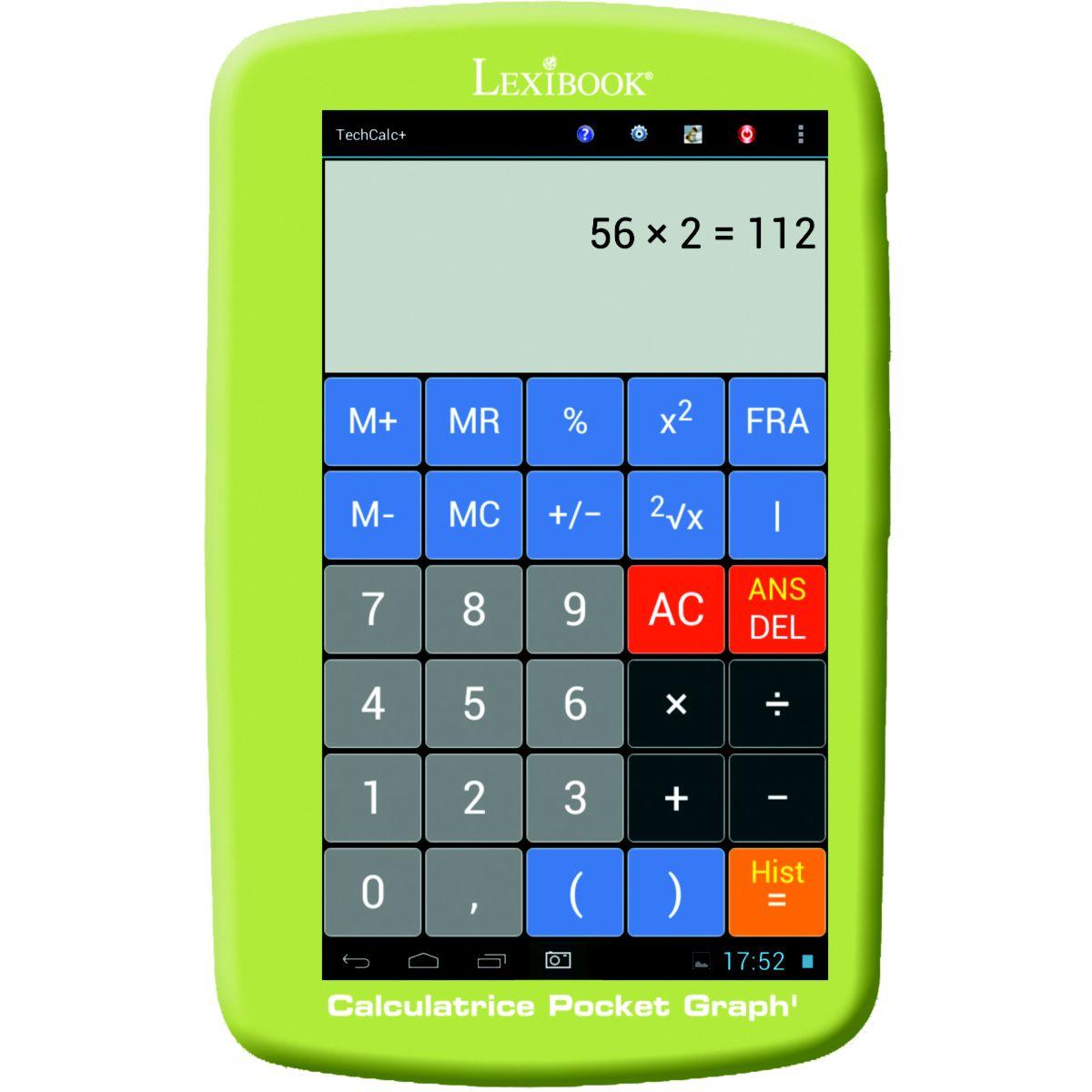 Calc. lexibook gc143fr vert (photo)
