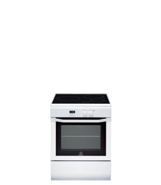 Cuisinière induction indesit ic63i 6c6a (w) fr (photo)