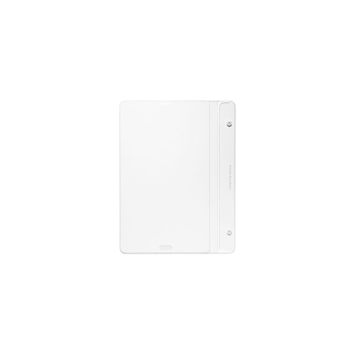 Cover samsung simple cover monaco tab s 8'' blanc - livraison offerte : code chronoff (photo)