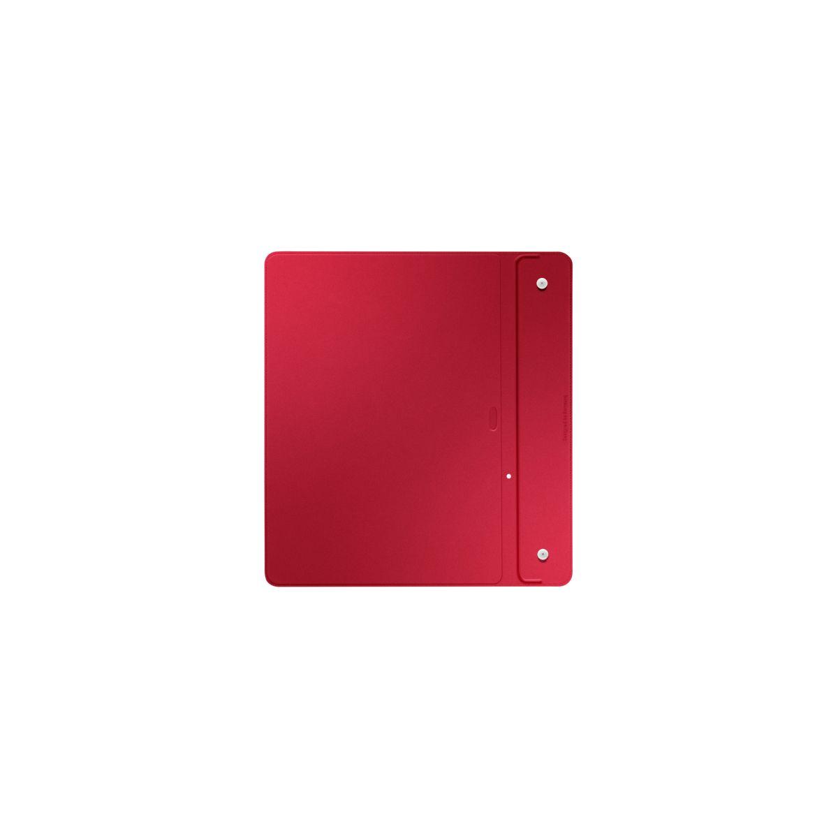 Cover samsung simple cover monaco tab s 10'' rouge - livraison offerte : code chronoff (photo)