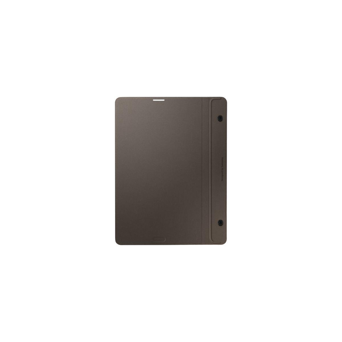 Cover samsung simple cover monaco tab s 8'' bronze titanium - livraison offerte : code chronoff (photo)