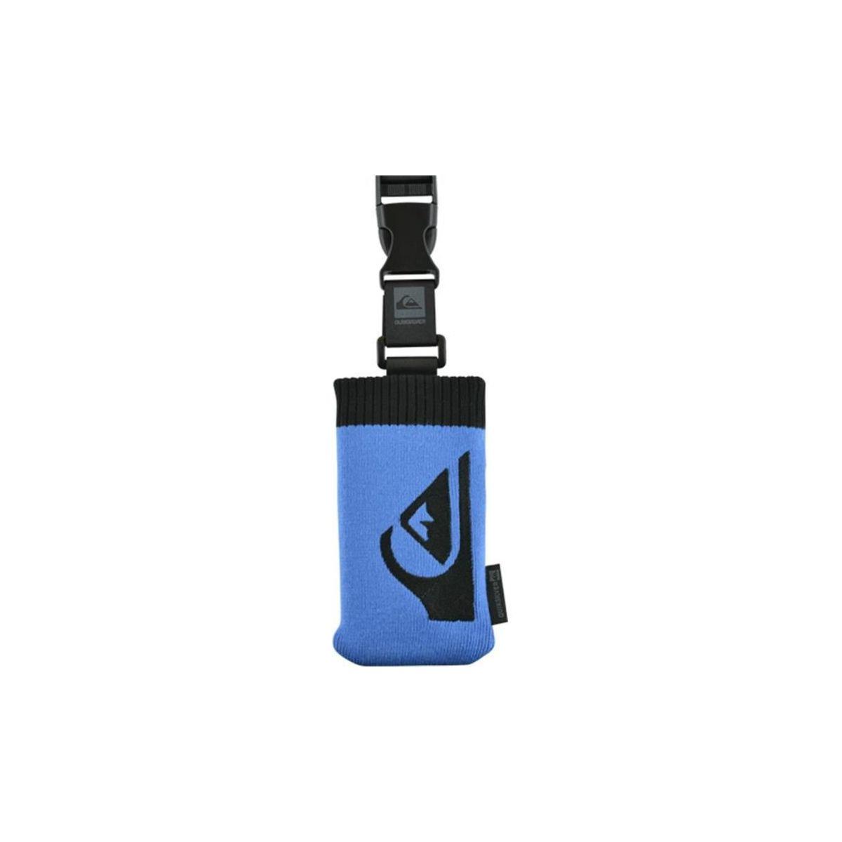 Chaussette quiksilver bleue logo (photo)