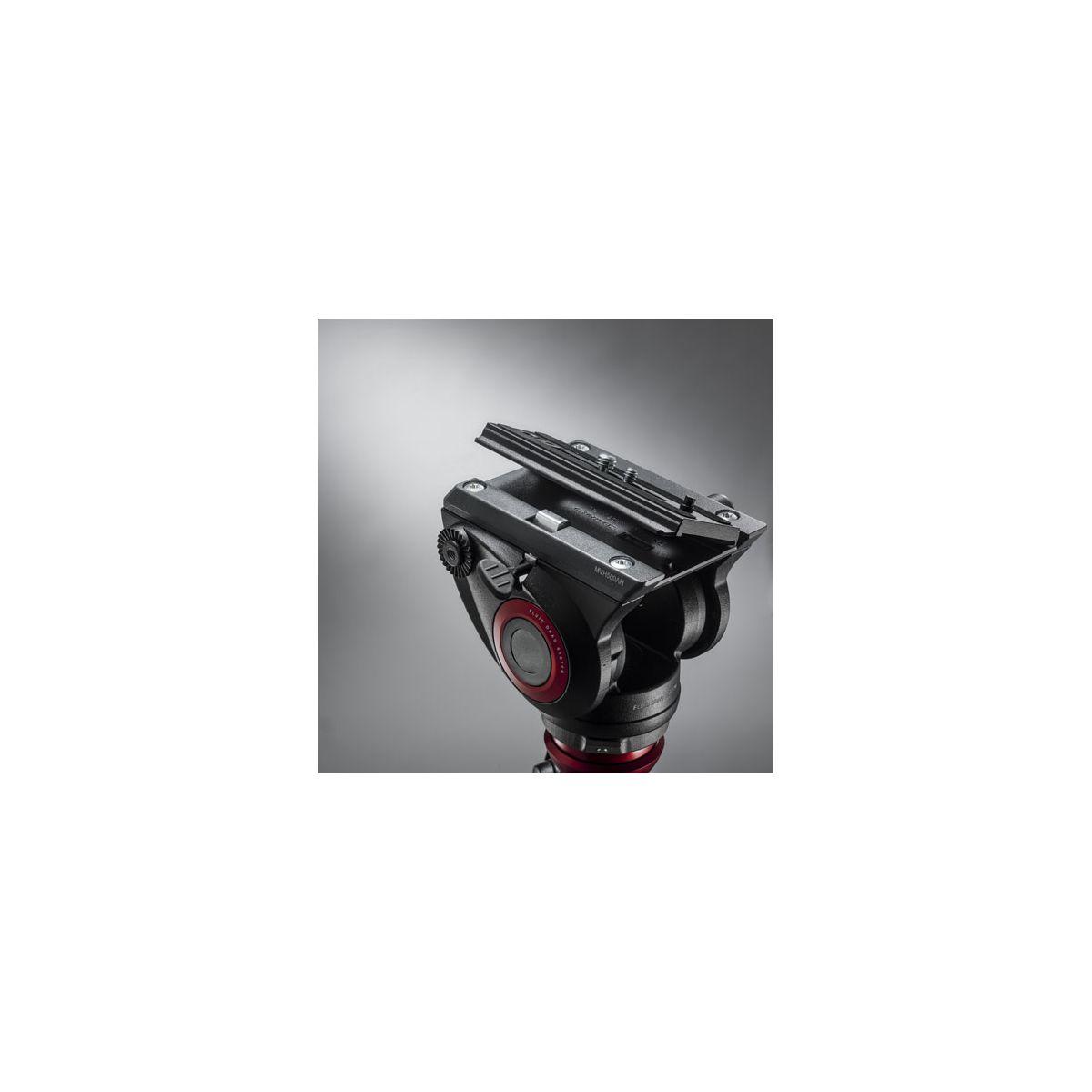 Tr�pied manfrotto kit 500, trepied vid�o double branche mv - 5% de remise imm�diate avec le code : wd5 (photo)
