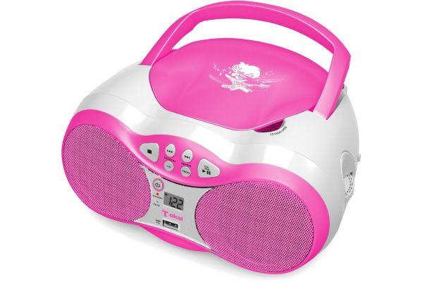 Radio cd boombox tokai tb-207 rose - 2% de remise imm�diate avec le code : wd2 (photo)
