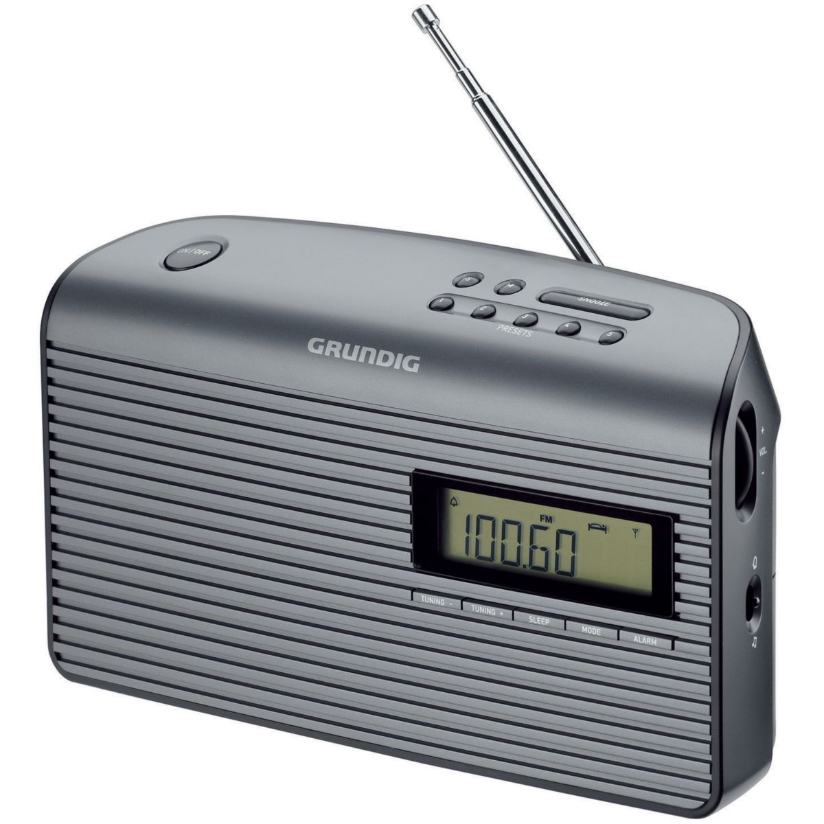 Radio analogique grundig music 61 noir