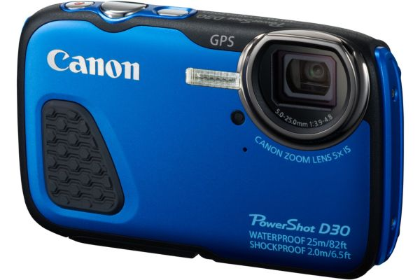 Appareil photo compact canon d30 bleu - 5% de remise immédiate avec le code : wd5 (photo)